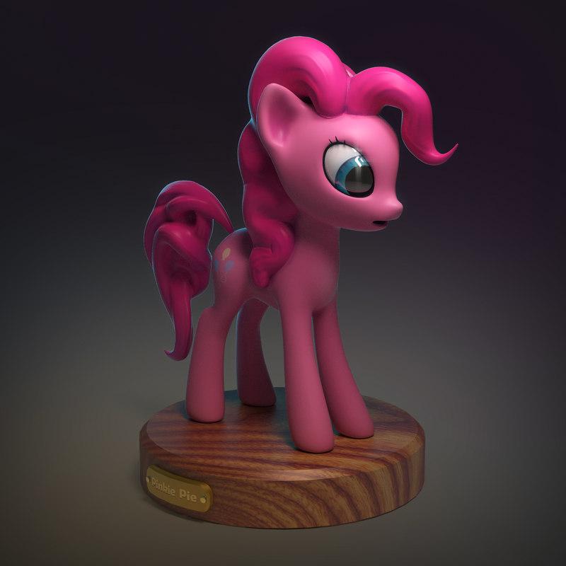 3ds little pony pinkie pie