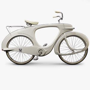 vintage bicycle 3d model