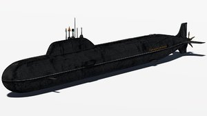 yasen class submarine 3ds