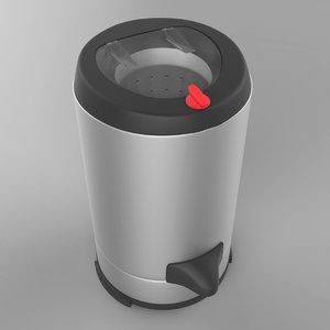 3d model dryer machine