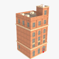 Low poly Building 2