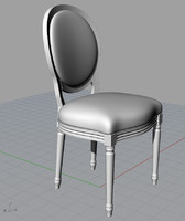 moda remix chair 3d model
