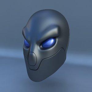 3d model robot head k