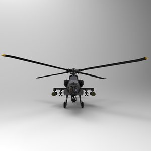 apachehelicopter modelled max
