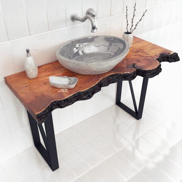 3d max slab wash basin