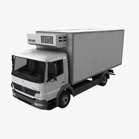 Mercedes Atego Fridge Truck
