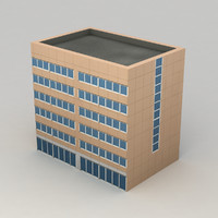 Lowpoly city building 4