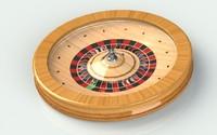 wheel casino 3d model