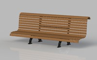 bench obj free