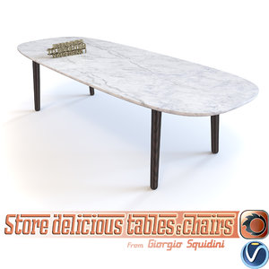 table poliform mad 3d 3ds