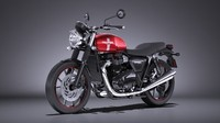 triumph bonneville twin 3d 3ds