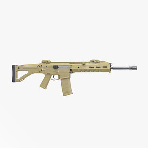 3d model adaptive combat rifle bushmaster
