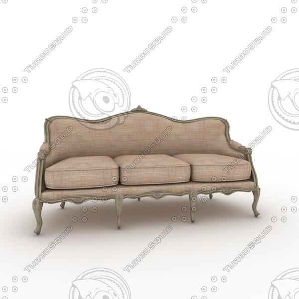 3d max sof louis xv