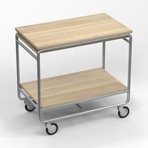 3d model table trolley