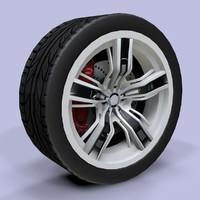 3d sport wheel