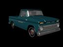vintage truck 3d ma