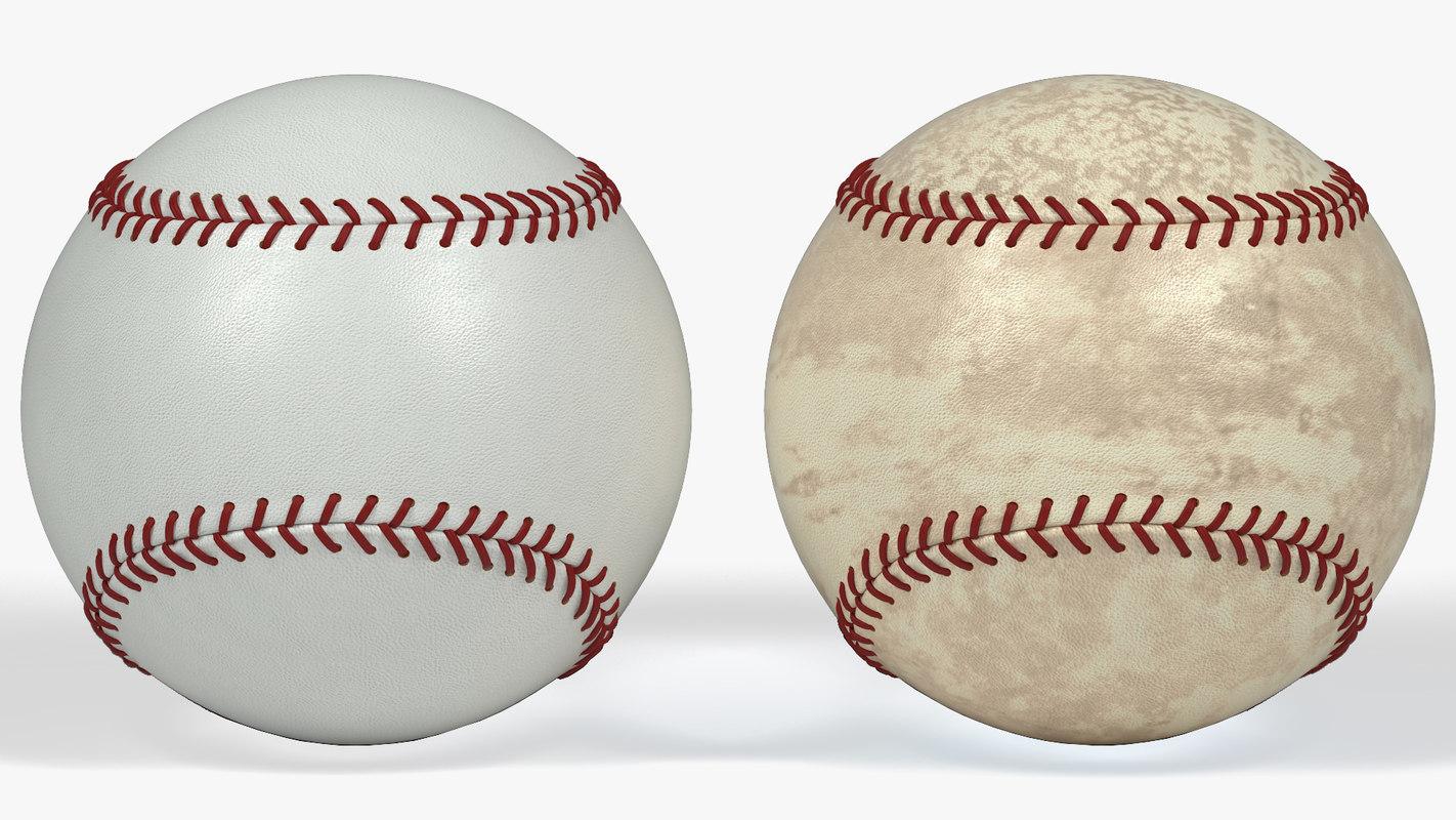 3d max baseball ball