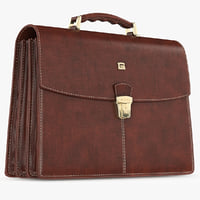 Briefcase Classic Leather