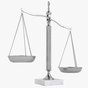 3d law scale model