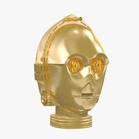 C-3PO Head