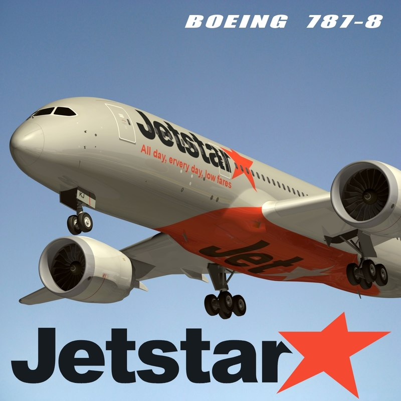 max b788 jetstar