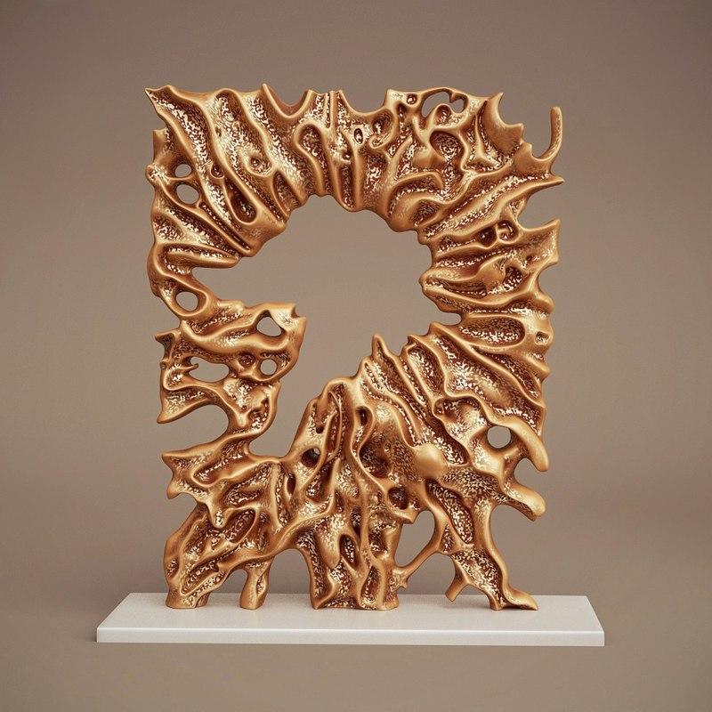 art bone sculpture blend