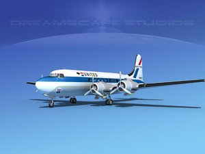 3d dc-4 united airlines