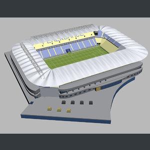 3d model kr stadium football -