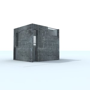 modern contemporary house interior 3d max