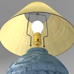 3d model blender cycles lamp light