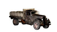 3d obj 1938 truck whiskey