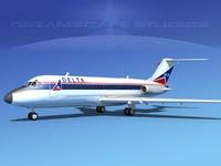 Douglas DC-9-20 Delta Airlines