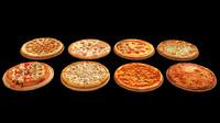 pizza 3d max