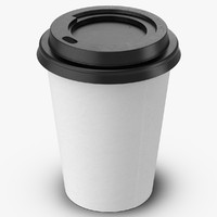 Coffee Cup Empty 12oz Takeout 2