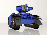 tank anime 3d max