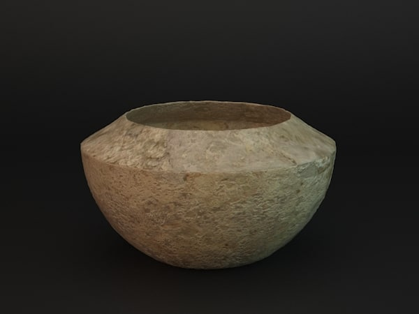 3d model of caly vase