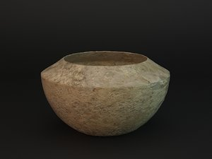 3d model of caly vase
