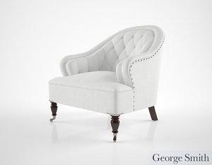 3d george smith markham chair