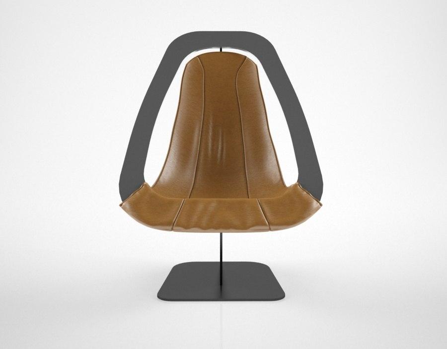 alain douillard leather chair max