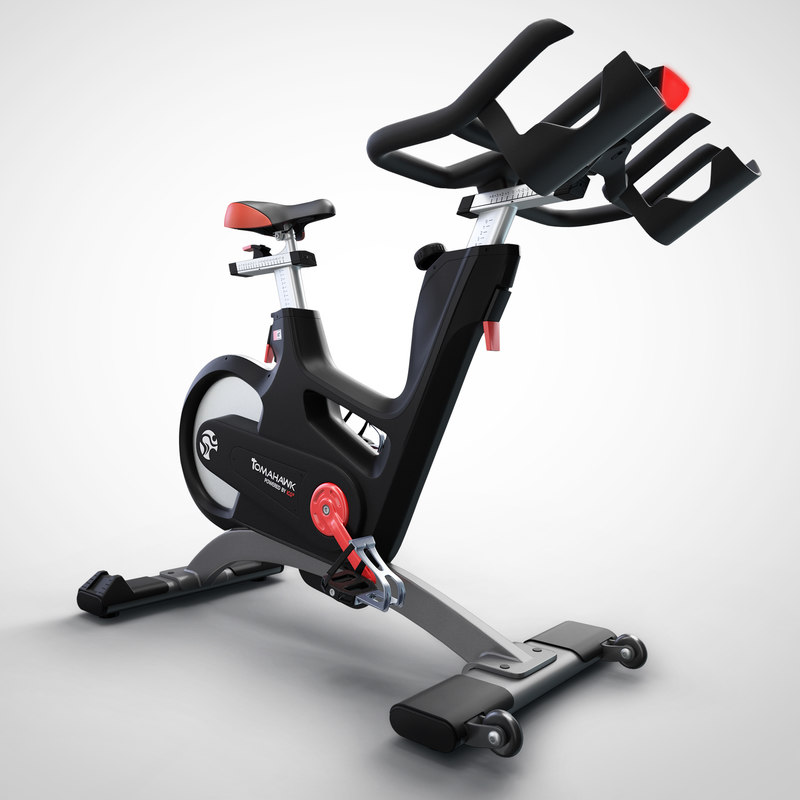 3d model tomahawk ic7 exercise bike