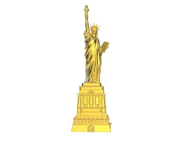 3d statue liberty scan