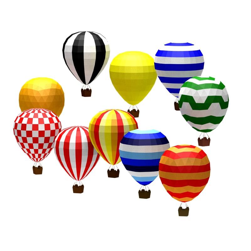 cartoon toon baloon 3d c4d
