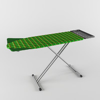 ironing board philips easy8 3d model