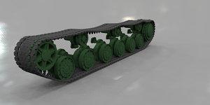 tank tracks 3ds