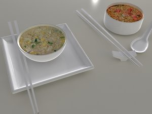 3d nissin cooked instant noodles