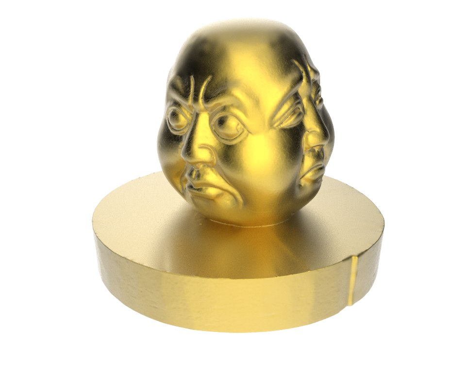 sculpture buddha 3d obj
