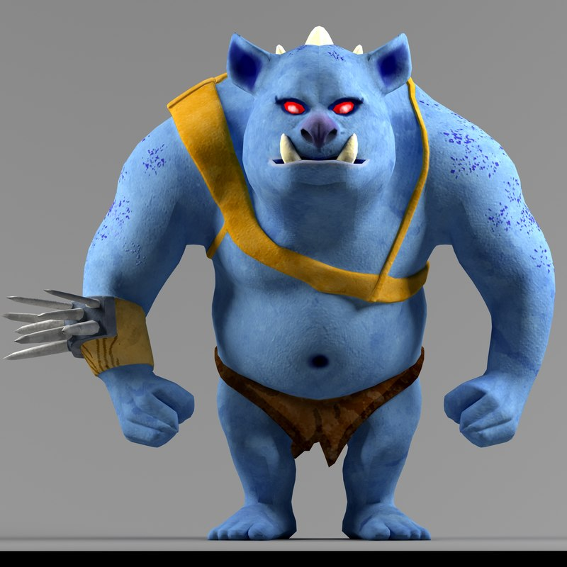blue monster max