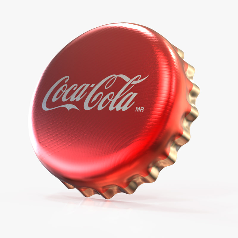 3d model of bottle cap
