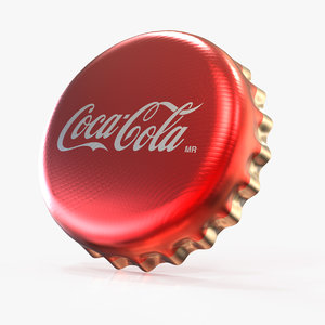 3d model of bottle cap