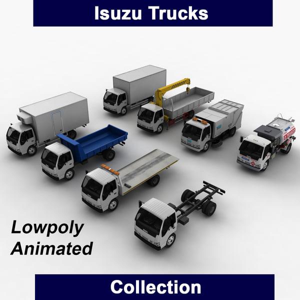 3ds isuzu trucks